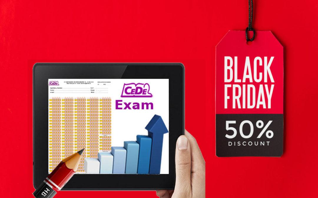 Promoción Black Friday CedeExam!!!