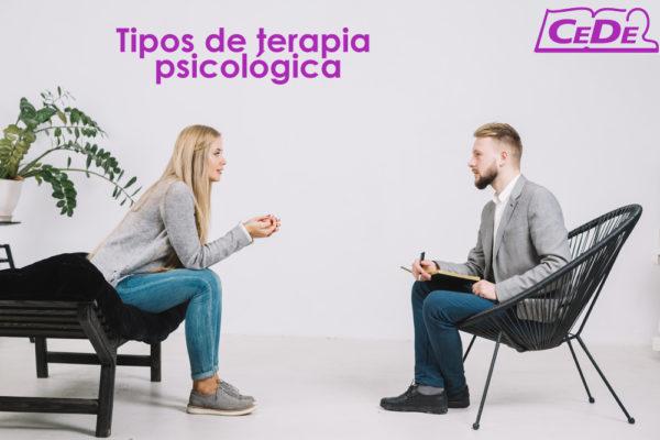 Tipos de Terapia Psicológica