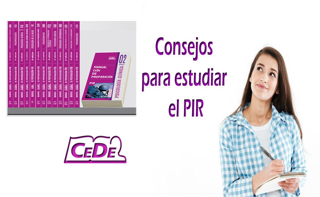 Consejos para estudiar el PIR