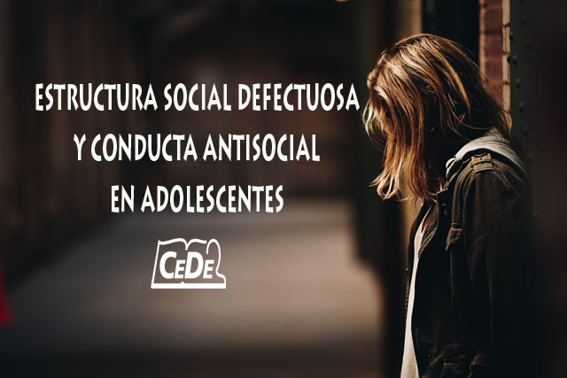 Estructura social defectuosaestructura social defectuosa